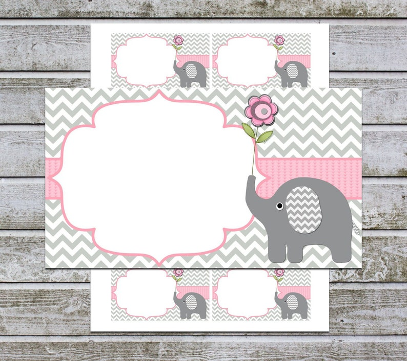 Blank Baby Shower Invitation Insert Cards Thank You Notes Etsy