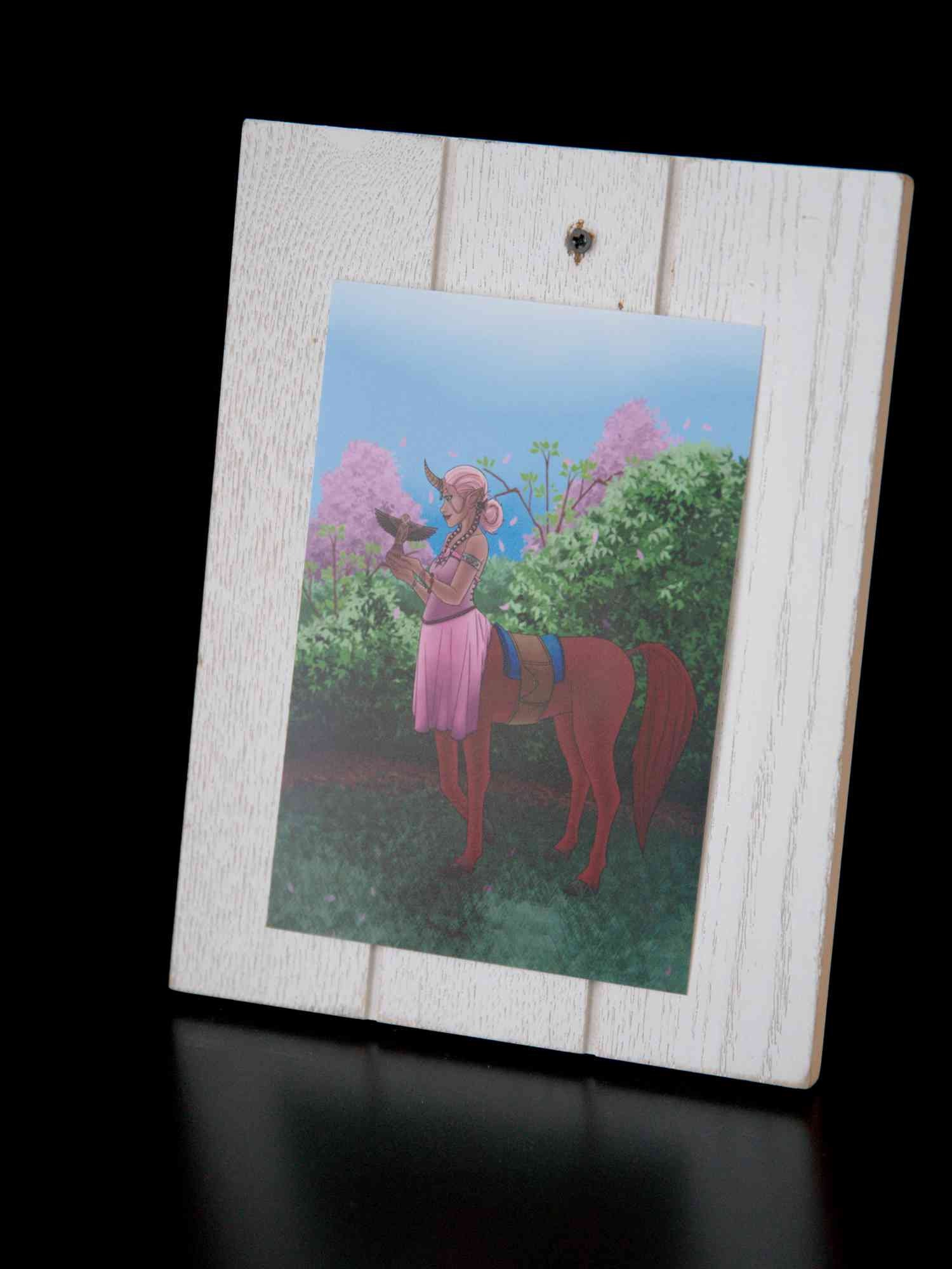 Unicorn Illustration Unicorn Print Fantasy Art Centaur Female Etsy