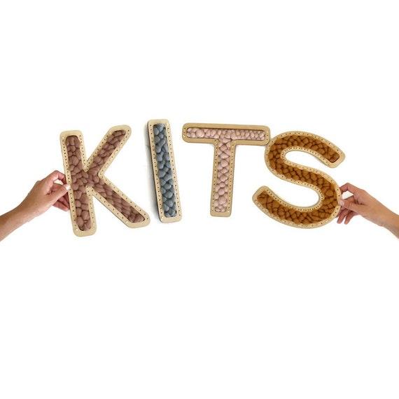 Letter Loom Weaving Kits