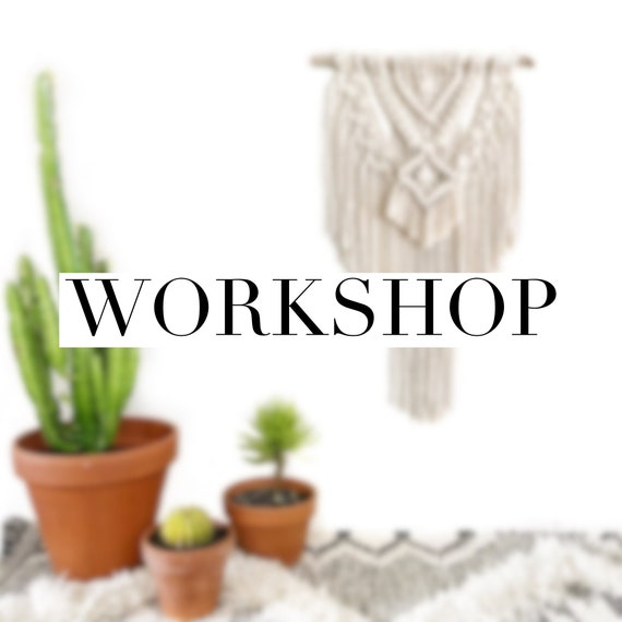 Wall Hanging Workshop - Fremantle - Saturday 15th Sept, 4pm