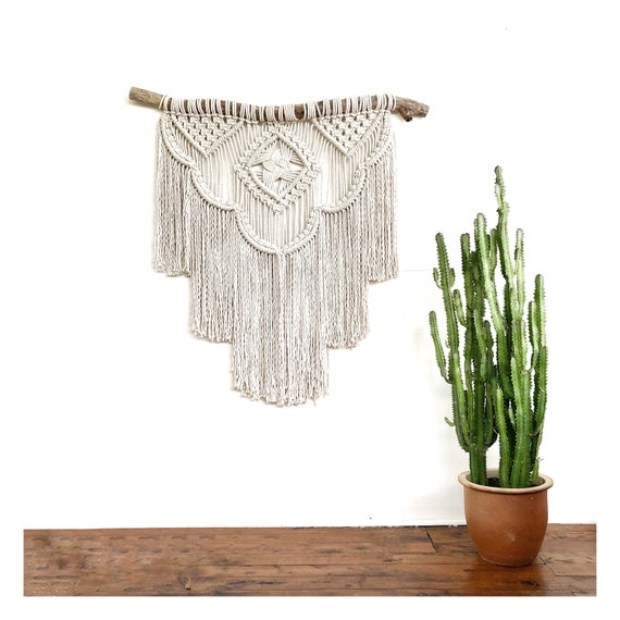 "Extra Large Macrame Wall Hanging  ""Odyssey"""