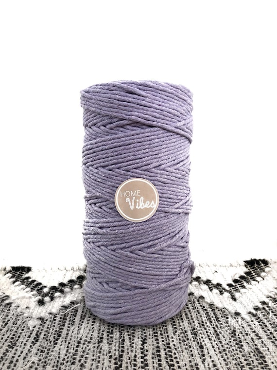 LAVENDER Single Twist Cord 1kg