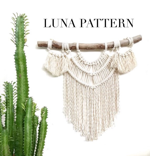 """Luna"" Macrame Pattern Beginner Friendly"