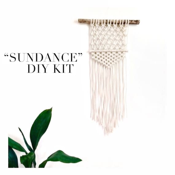 "DIY Macrame Wall Hanging Kit ""Sundance"""
