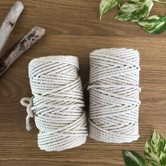 3 PLY 4mm x 500g (approx 75m)