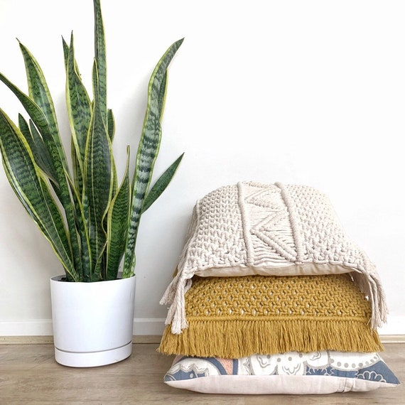 Pillow Cover Macrame Pattern