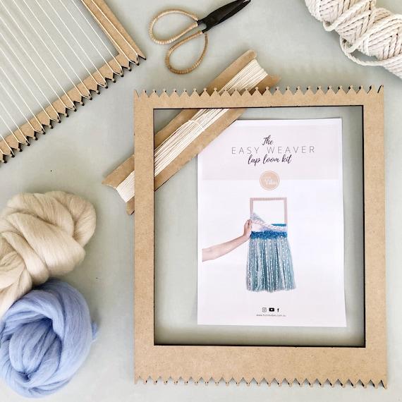"""Easy Weaver"" Lap Loom Weaving Kit"