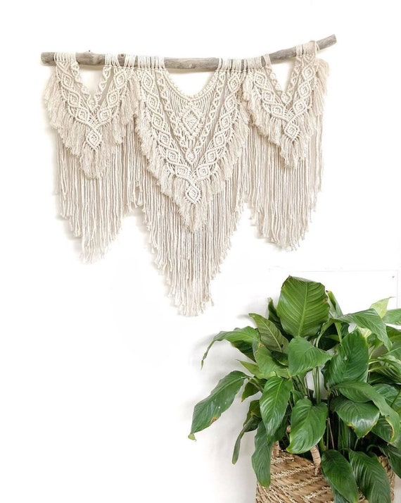 "Extra Large Macrame Wall Hanging ""Insight"""