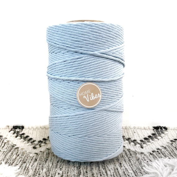 BABY BLUE Single Twist 4mm 1kg