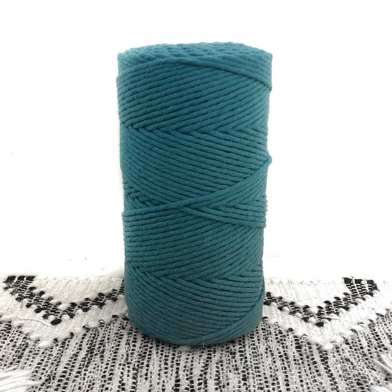 TEAL 4mm Single Twist Cord 1kg
