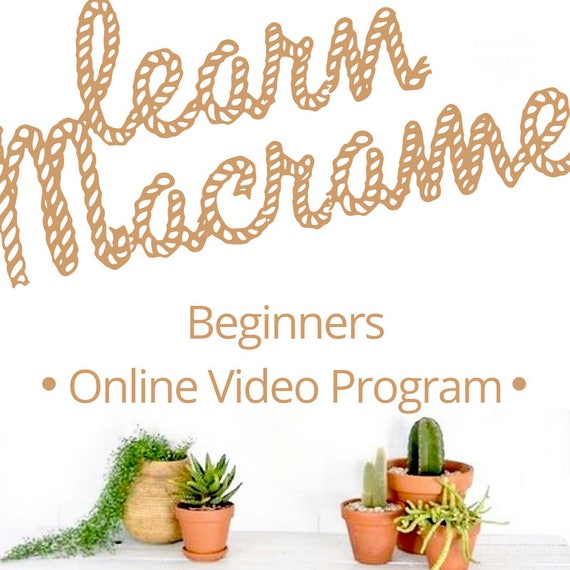 MACRAME TUTORIALS Beginners Membership for Video Tutorials