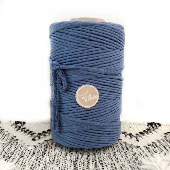 OCEAN BLUE Cord Single Twist 4mm 1kg