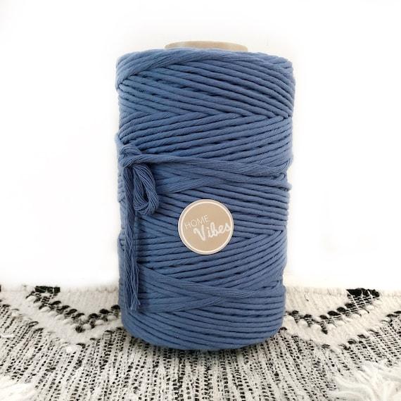 OCEAN BLUE 4mm Cord Single Twist 1kg