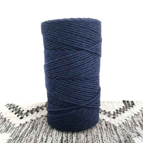 NAVY BLUE 4mm Single Twist Cord 1kg