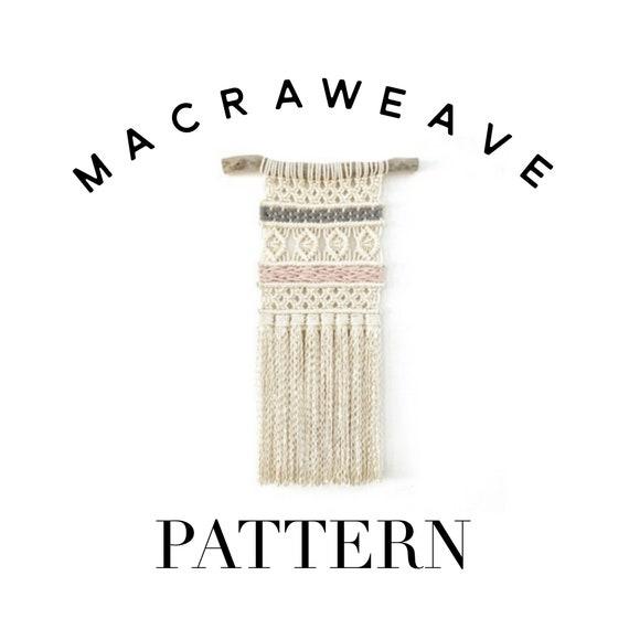 Beginners Macraweave Pattern