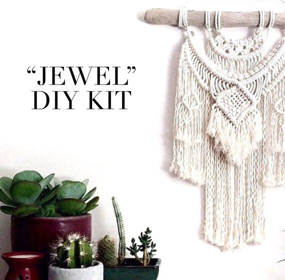 "DIY KIT ""Jewel"" Wall Hanging"