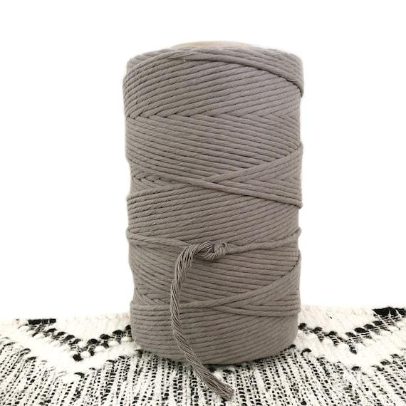 SLATE GREY Single Twist Cord 1kg