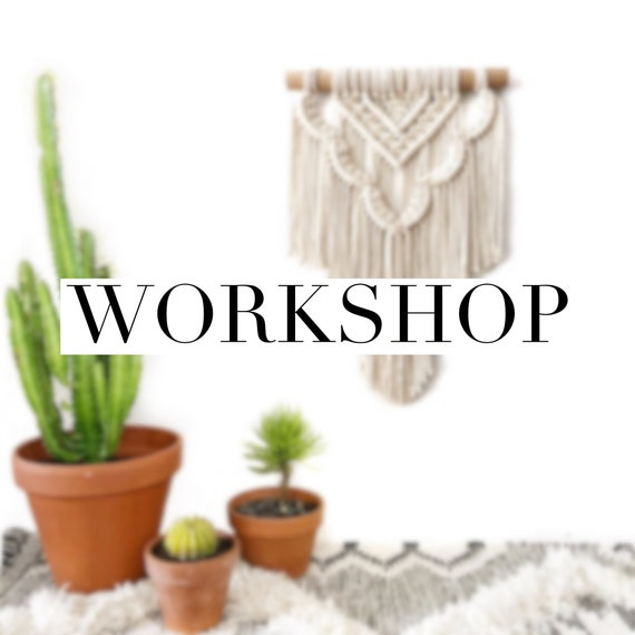 Wall Hanging Workshop - Fremantle, WA - Friday 14th Sept, 530pm
