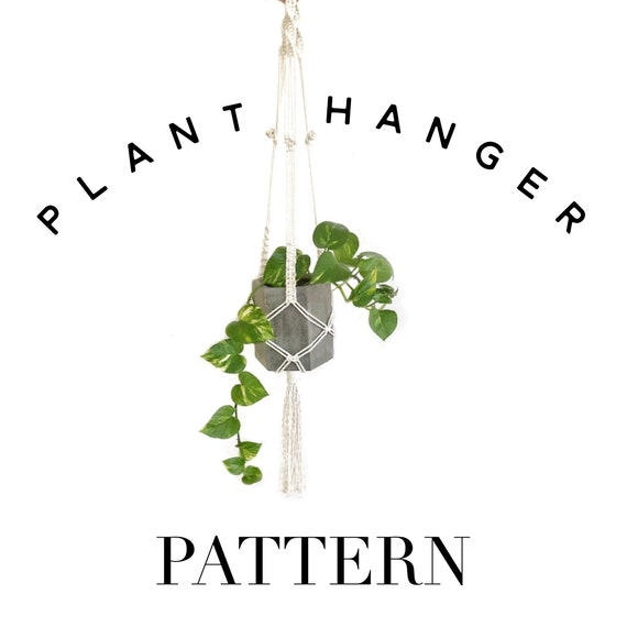 Beginner Friendly Plant Hanger Pattern