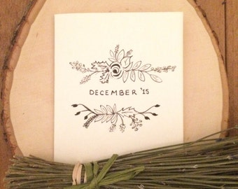 """Positive Paper Co. """"December '15"""" Holiday Card"""