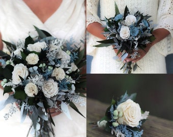 Dried Wedding Flower Arrangements Dried By Pickabloomflowers