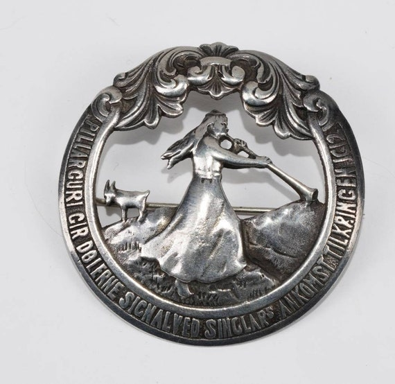 Nils Martin Elvik Antique Vintage Norwegian Silver