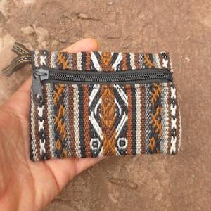 Alpaca Wool Colorful Crystal Bag  Coin Purse