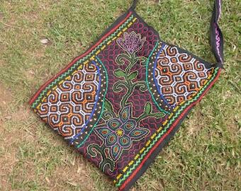 ayahuasca traditional bag handmade shipibo conibo tribe Sacred powerful bag. Peruvan bag Shipibo bag