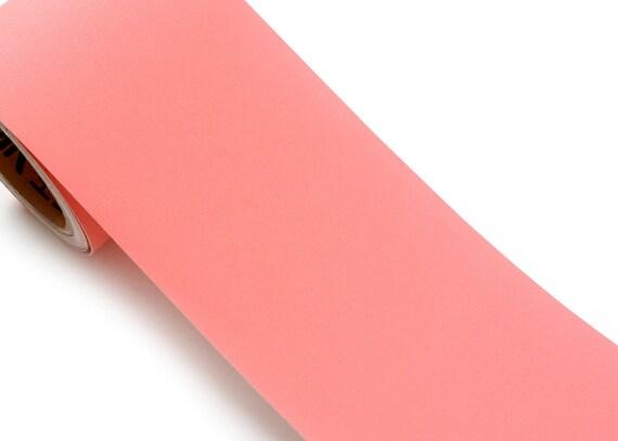 Peel & Stick Flame Retardant Border Sticker Solid Pink