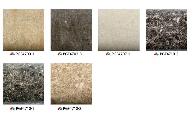 Peel /& Stick Flame Retardant Backsplash Granite Marble Effect Self-adhesive Wallpaper PGF4707-1 2.00 Feet X 6.56 Feet
