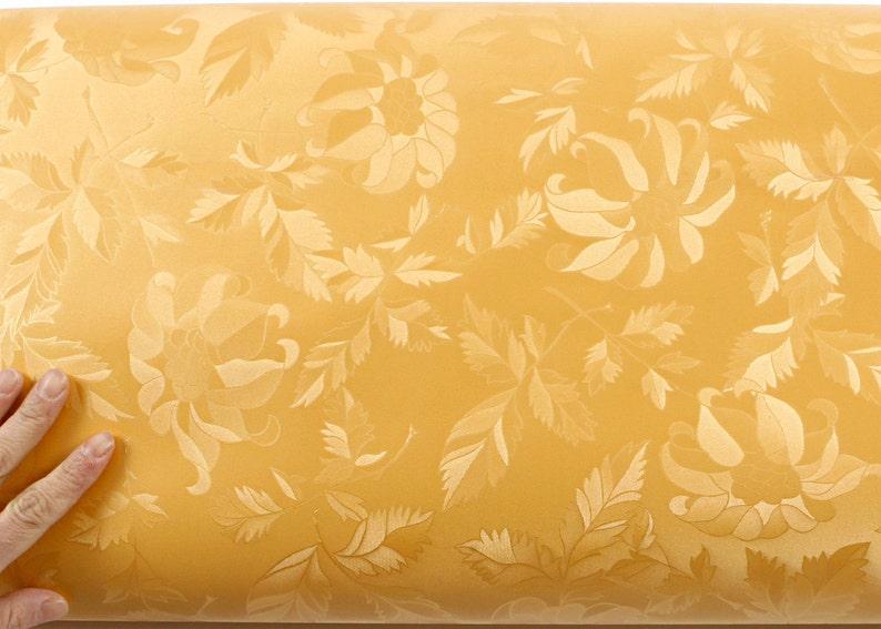 1.96 Feet X 8.20 Feet Peel /& Stick Backsplash Olivia Gold Pearl Self-Adhesive Wallpaper 5200-3