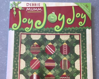 Debbie Mumm - Joy Joy Joy - Quilts, Crafts and Gifts
