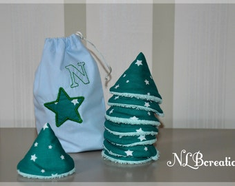 Pee Teepees-set of 8 with a custom storage bag