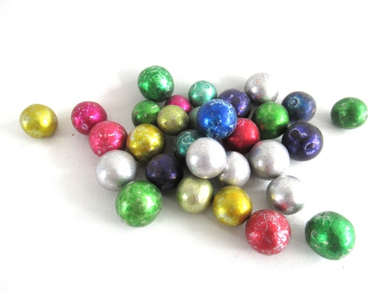antique clay marbles