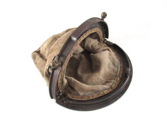 Antique 1930's offerings Bag,  donation, collecti… - image 2