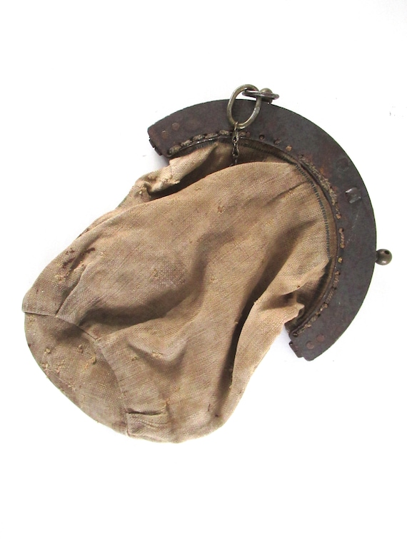 Antique 1930's offerings Bag,  donation, collecti… - image 1