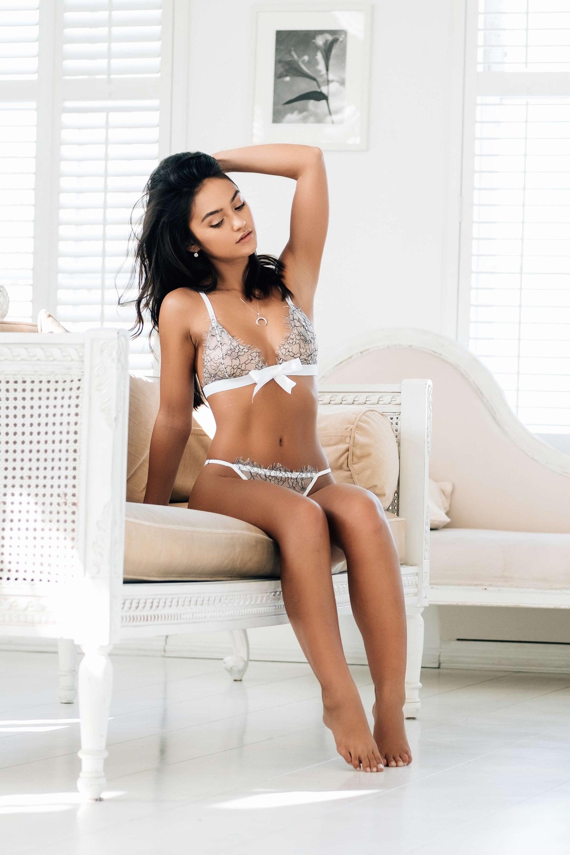 af13e652d White Lace Bra Luxury Handmade Lingerie Sissy Lingerie Set
