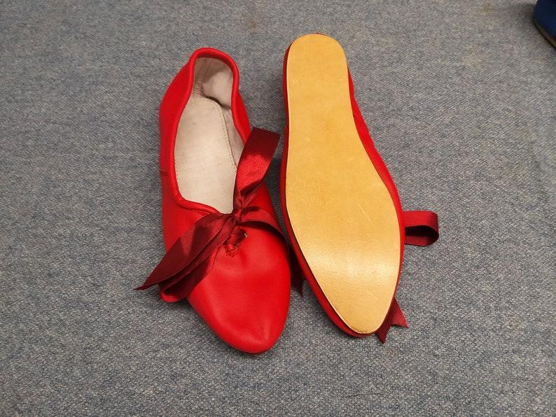 Swing Dance Shoes- Vintage, Lindy Hop, Tap, Ballroom Ladies Regency Slippers $122.00 AT vintagedancer.com