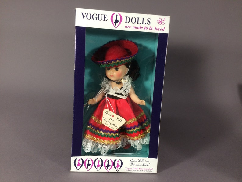 Vogue Ginny from Mexico  Vintage 1960s Faraways Lands Series image 0