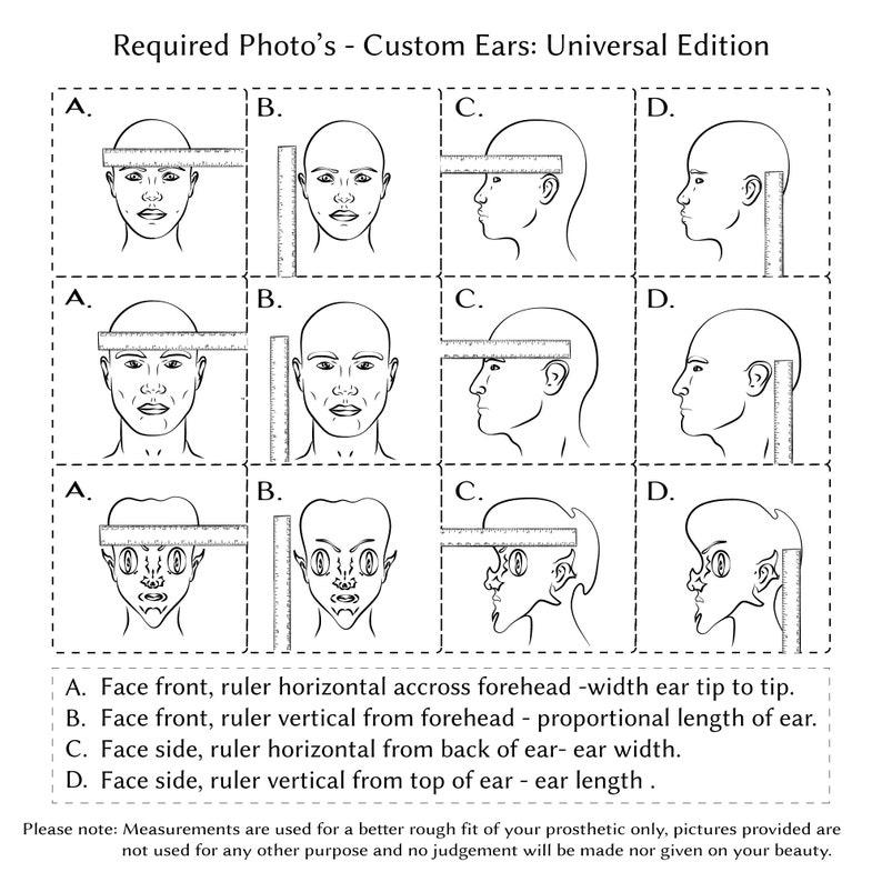 Custom design latex ear tips tier 1