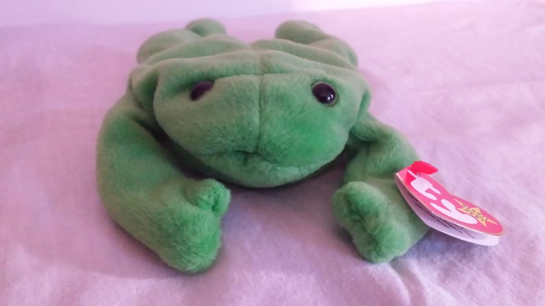 d426f3d8534 Vintage Legs TY Beanie Baby Vintage Frog Toy Legs the Frog