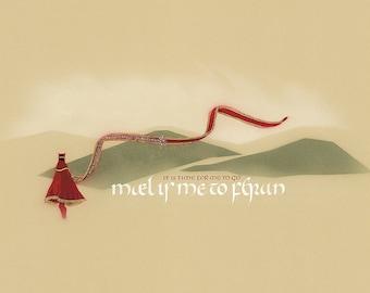 Journey art print: Mael is me to feran