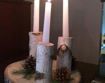 Candlesticks trio