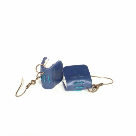 Mini Book Earrings