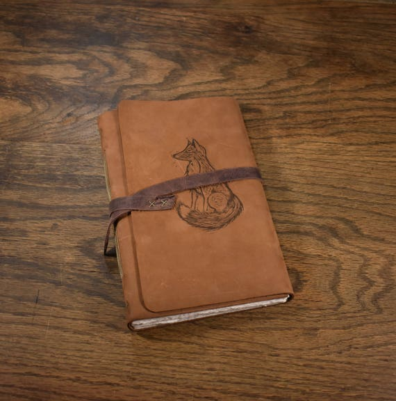 The Wanderer Leather Journal - Fox
