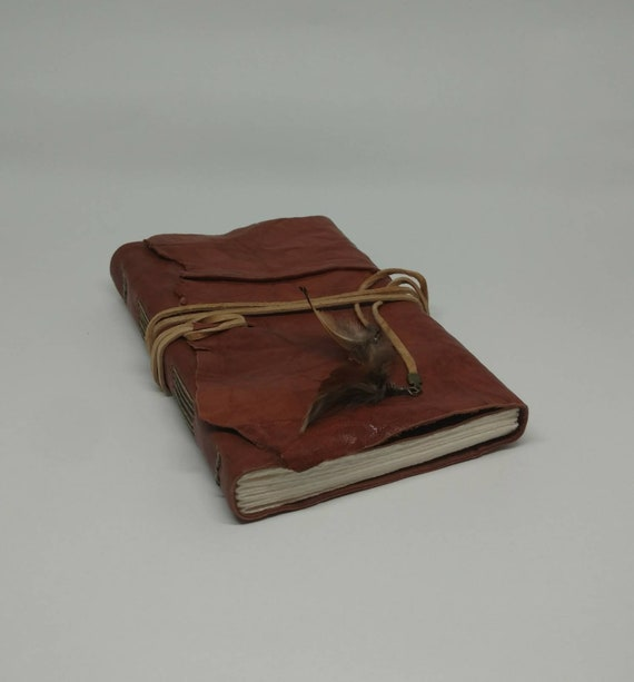 The Huntress Leather Journal - Cognac