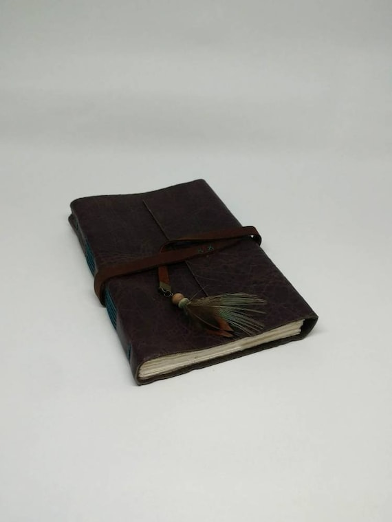 The Huntress Leather Journal - Dark Brown