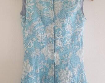Maxi dress Prints 70 's original dress