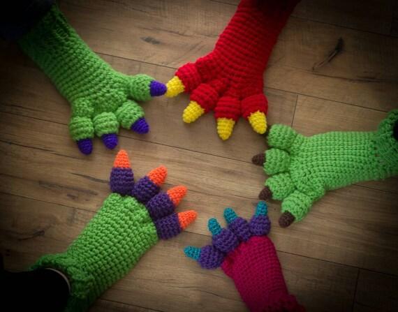 profitez de la livraison gratuite mode attrayante prix raisonnable Pieds de dinosaures farfelus, pieds monstre, chaussons femmes