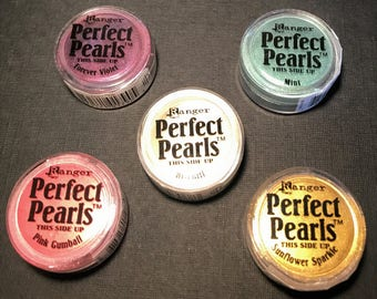 Ranger Tim Holtz Perfect Pearls  - New Colors!